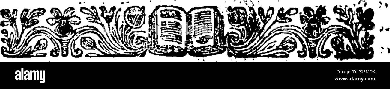 . English: Fleuron from book: A comment on Boadicia, with remarks on Mill's letter. With remarks on Mills's Letter. To which is added, a Prologue, To be Spoke at its Revival. By W. Rider, A. B. Late Scholar of Jesus College, Oxon. 51 A comment on Boadicia, with remarks on Mill's letter Fleuron T000115-4 - Stock Image