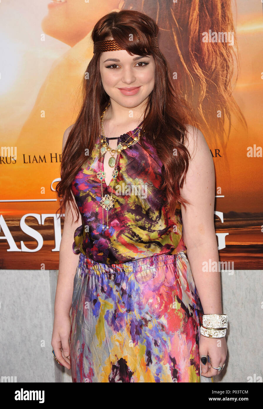 Jennifer Stone 38 - The Last Song Premiere at the ArcLight