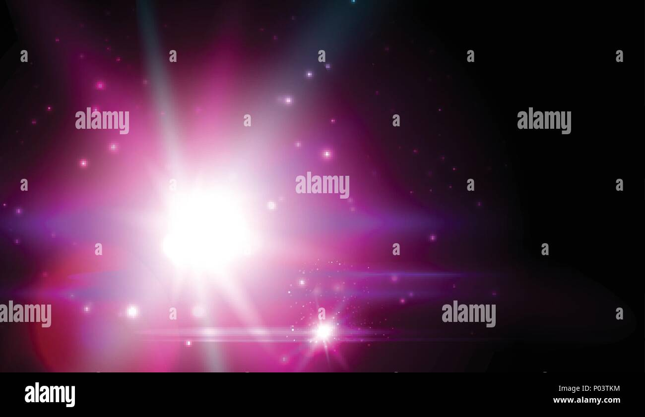 purple cosmic star bright flash galaxy luminescence space nebula