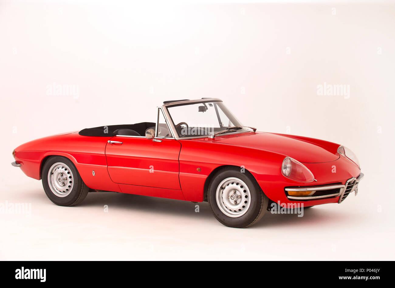 1968 Alfa Romeo 1750 Spyder - Stock Image