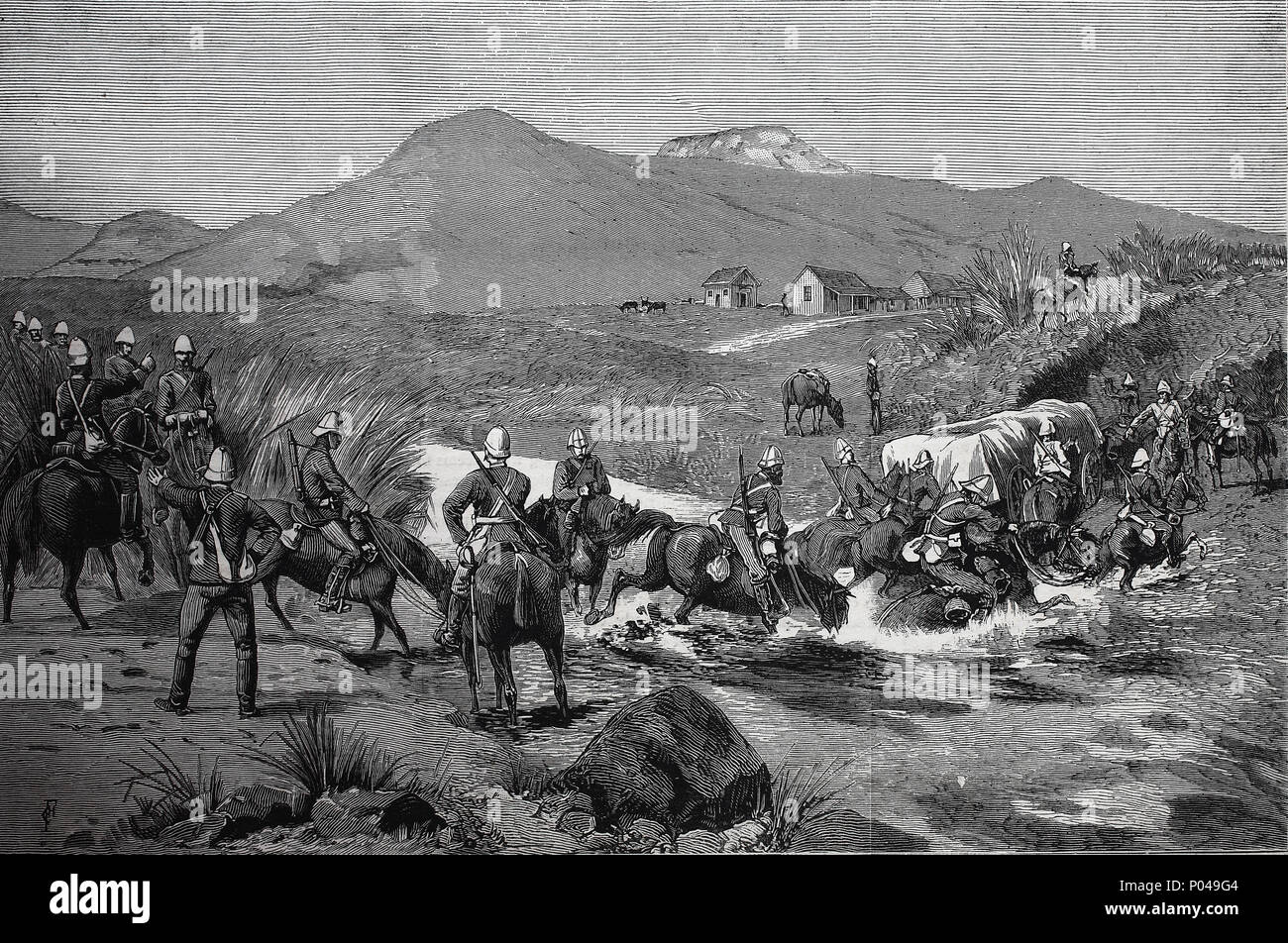 the anglo boer war was fought between the _____