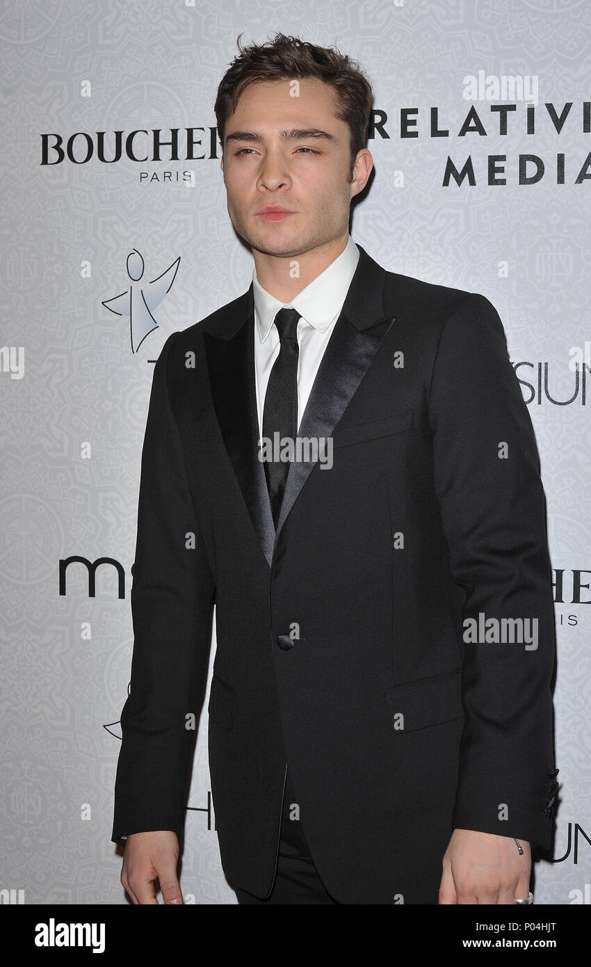 Ed Westwick _91  - The Art of Elysium Gala at the Beverly Hilton In Los Angeles.Ed Westwick _91 Red Carpet Event, Vertical, USA, Film Industry, Celebrities,  Photography, Bestof, Arts Culture and Entertainment, Topix Celebrities fashion /  Vertical, Best of, Event in Hollywood Life - California,  Red Carpet and backstage, USA, Film Industry, Celebrities,  movie celebrities, TV celebrities, Music celebrities, Photography, Bestof, Arts Culture and Entertainment,  Topix, vertical, one person,, from the year , 2010, inquiry tsuni@Gamma-USA.com - Three Quarters - Stock Image