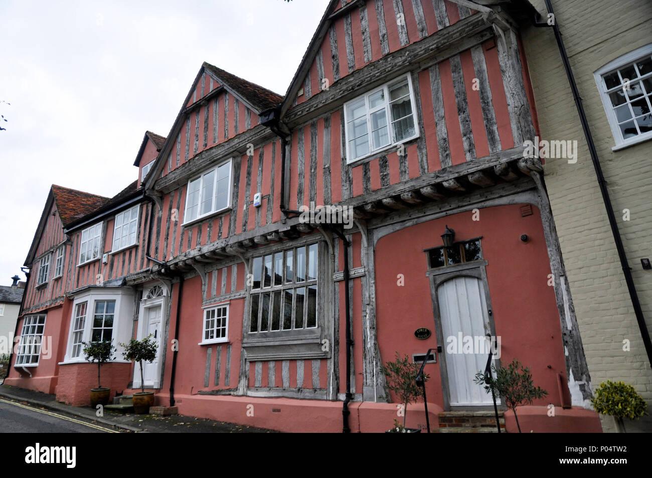 lower house lavenham suffolk - Stock Image