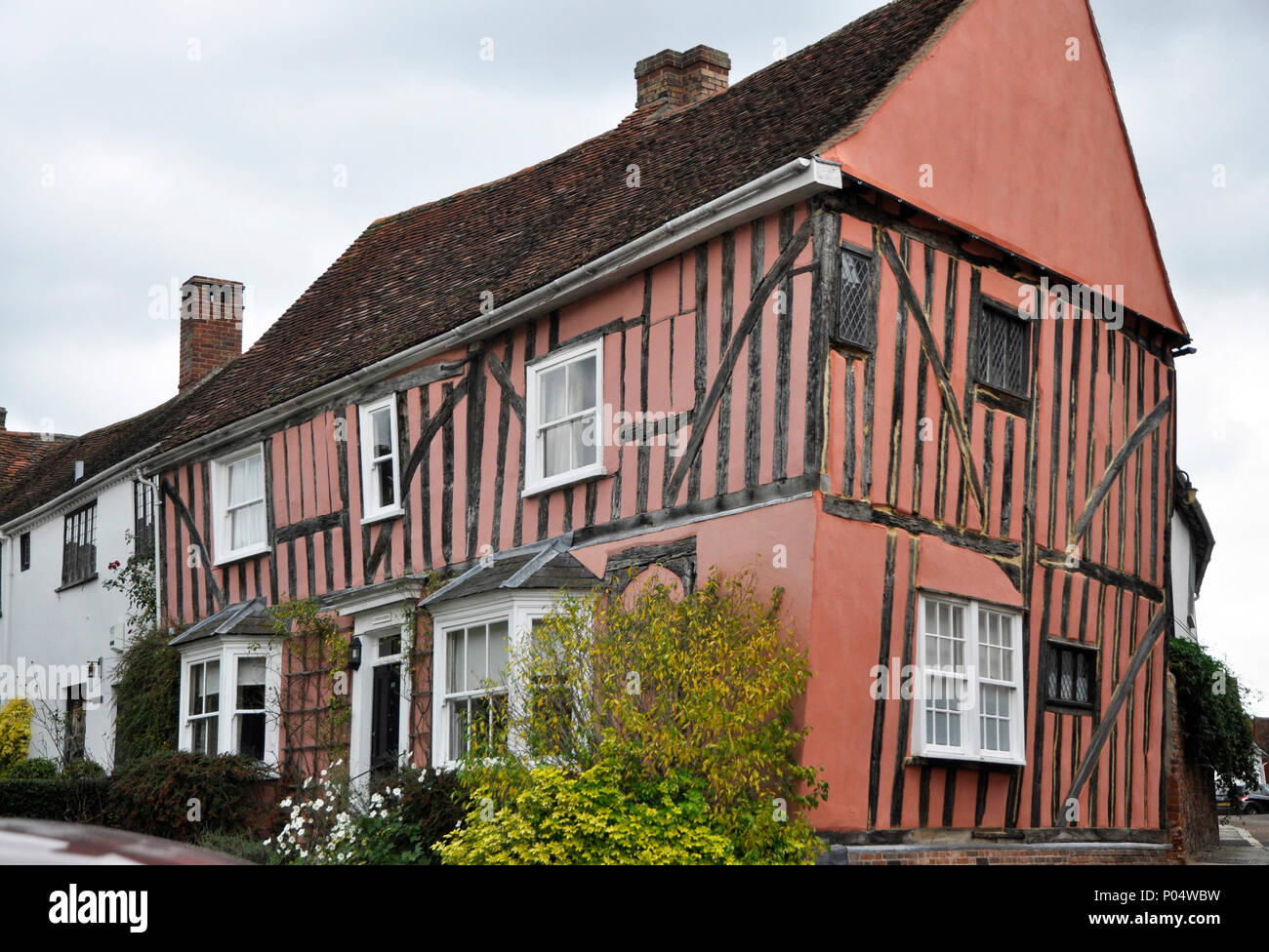 cordwainers house lavenham suffolk - Stock Image