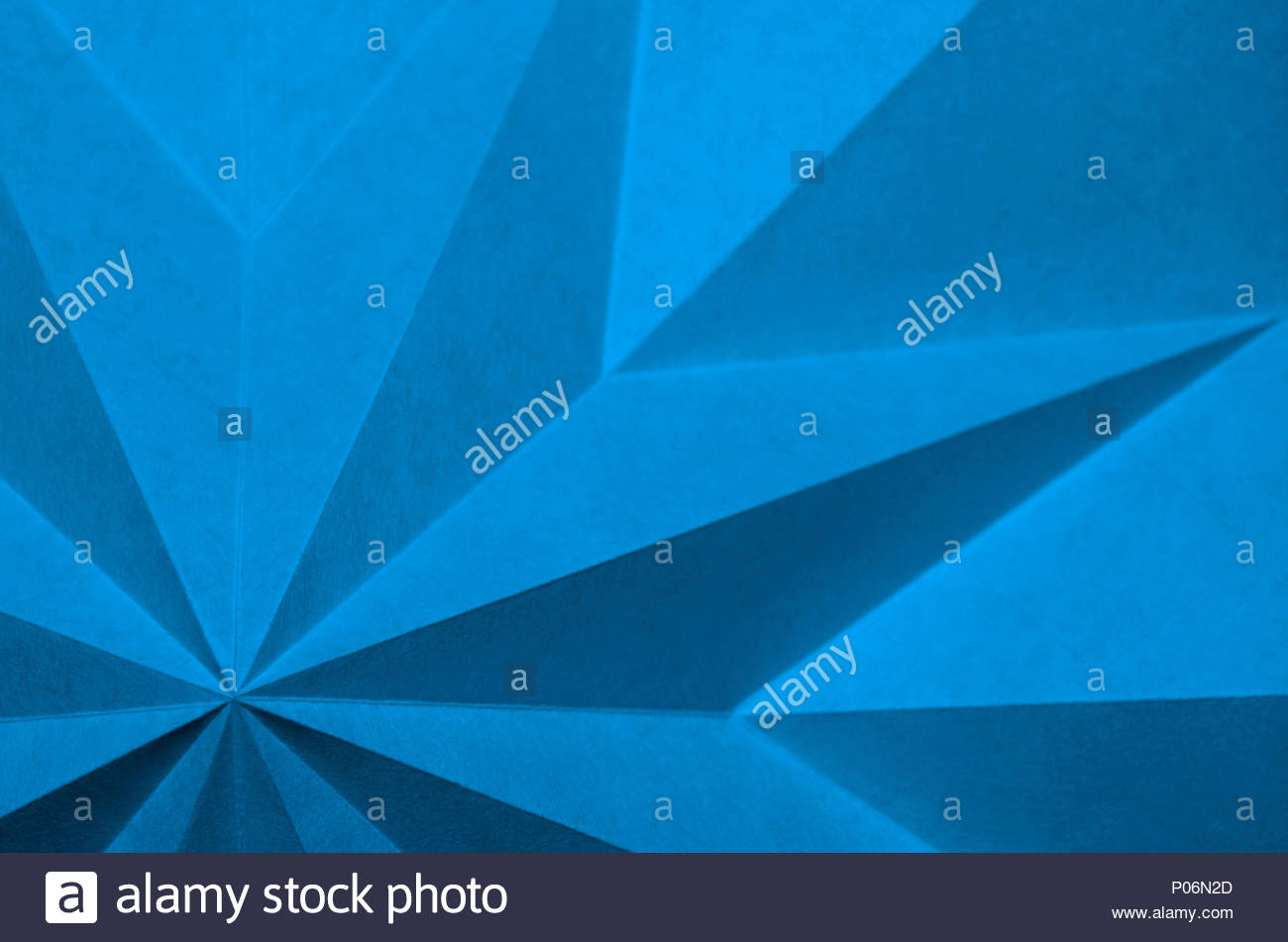 Blue Origami Background Abstract Wallpaper Shallow Focus Graphic Macro Angular Monochrome Folded Paper Pantone 16 4132 Little Boy