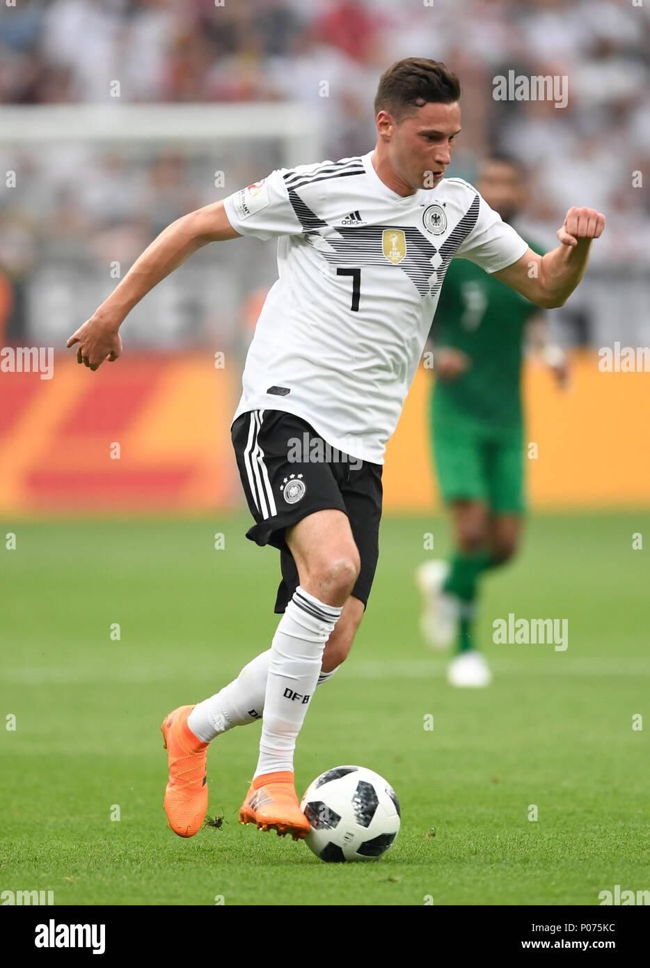 08 June 2018, Germany, Leverkusen: Soccer, international, Germany vs Saudi Arabia at the BayArena. Germany's Julian Draxler. Photo: Marius Becker/dpa Stock Photo