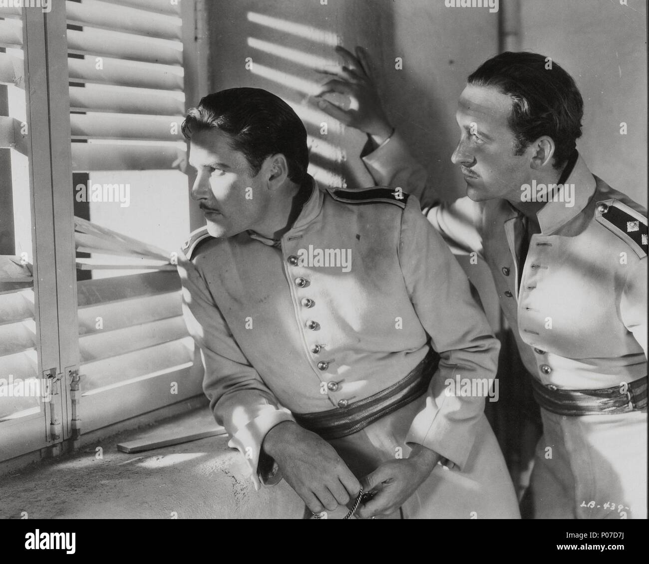 Original Film Title: THE CHARGE OF THE LIGHT BRIGADE.  English Title: THE CHARGE OF THE LIGHT BRIGADE.  Film Director: MICHAEL CURTIZ.  Year: 1936.  Stars: ERROL FLYNN; DAVID NIVEN. Credit: WARNER BROTHERS / Album - Stock Image