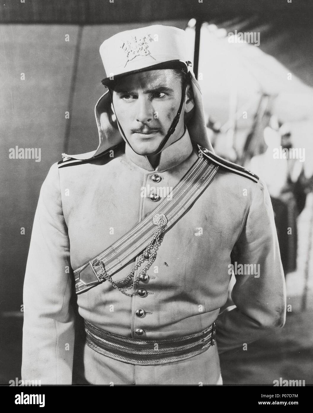Original Film Title: THE CHARGE OF THE LIGHT BRIGADE.  English Title: THE CHARGE OF THE LIGHT BRIGADE.  Film Director: MICHAEL CURTIZ.  Year: 1936.  Stars: ERROL FLYNN. Credit: WARNER BROTHERS / Album - Stock Image