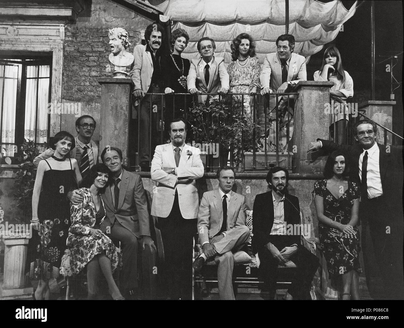 Original Film Title: LA TERRAZZA. English Title: THE TERRACE. Film ...