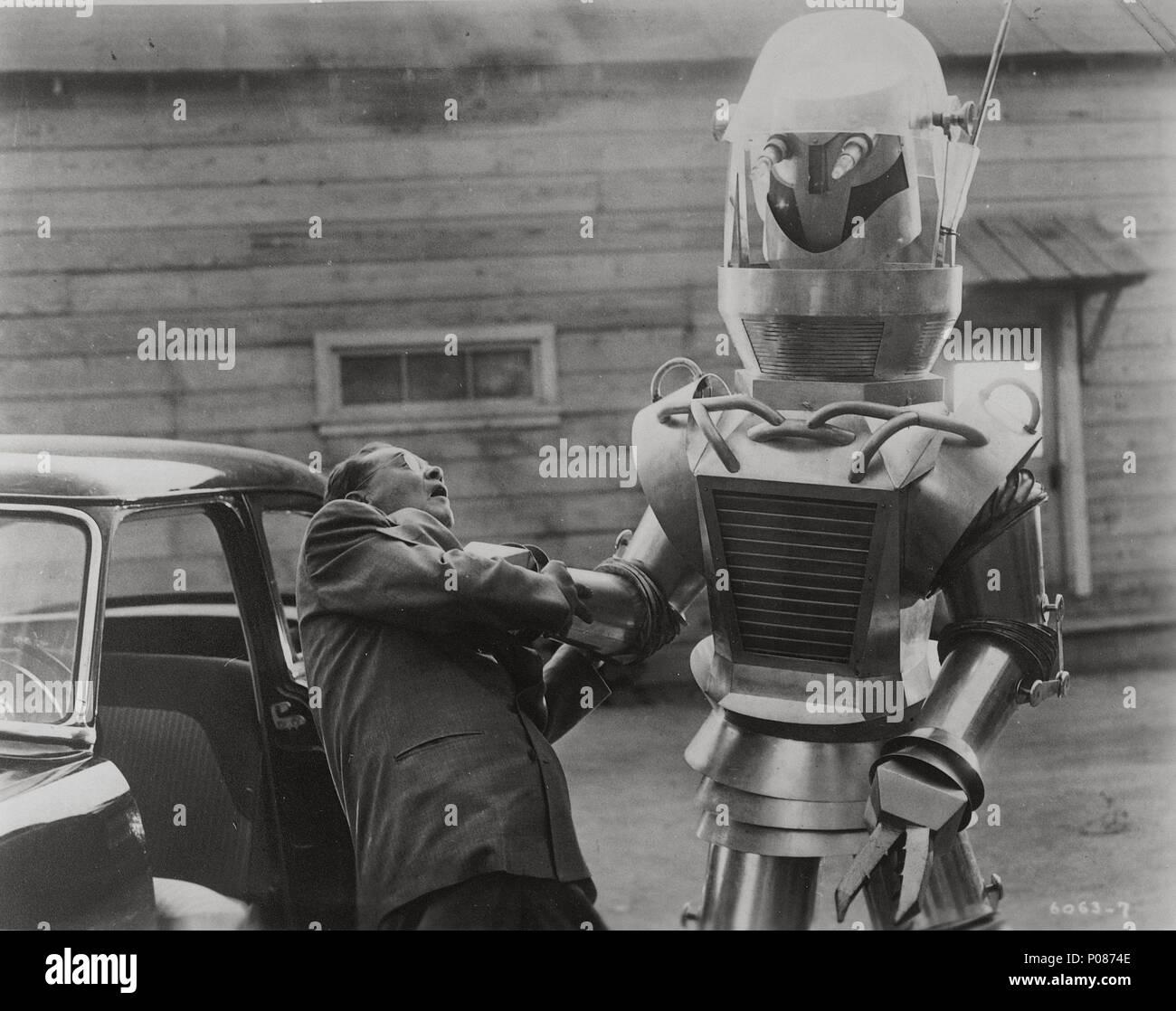 Original Film Title: TOBOR THE GREAT.  English Title: TOBOR THE GREAT.  Film Director: LEE SHOLEM.  Year: 1954. Credit: REPUBLIC PICTURES / Album - Stock Image