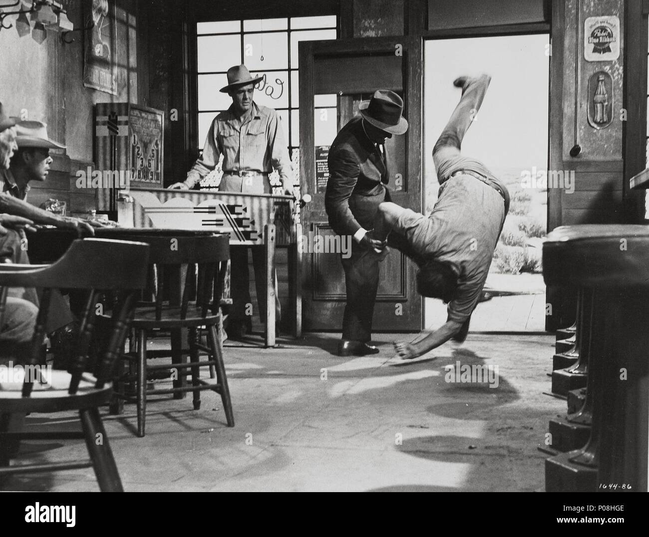 Image result for spencer tracy and ernest borgnine fight scene""