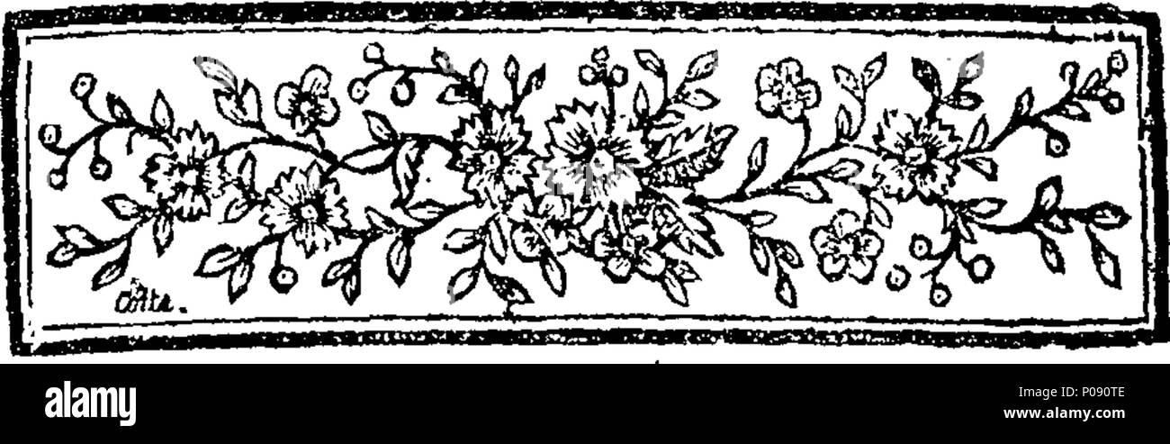 285 Amélie, tragédie bourgeoise, en cinq actes et en prose. Fleuron T096074-2 - Stock Image