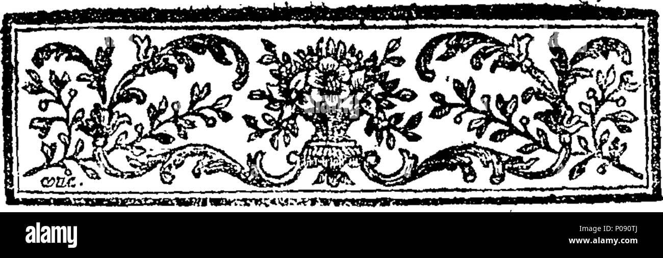 285 Amélie, tragédie bourgeoise, en cinq actes et en prose. Fleuron T096074-4 - Stock Image