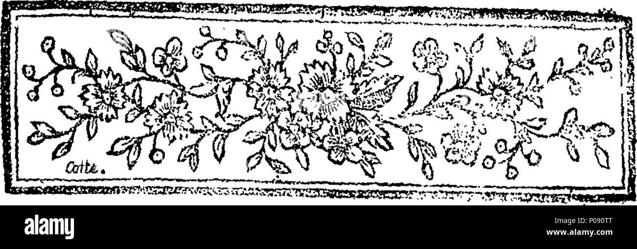 285 Amélie, tragédie bourgeoise; en cinq actes et en prose. Fleuron N044422-2 - Stock Image