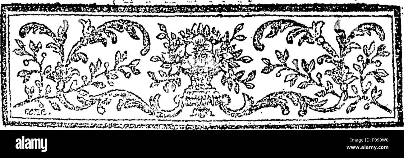 285 Amélie, tragédie bourgeoise; en cinq actes et en prose. Fleuron N044422-6 - Stock Image