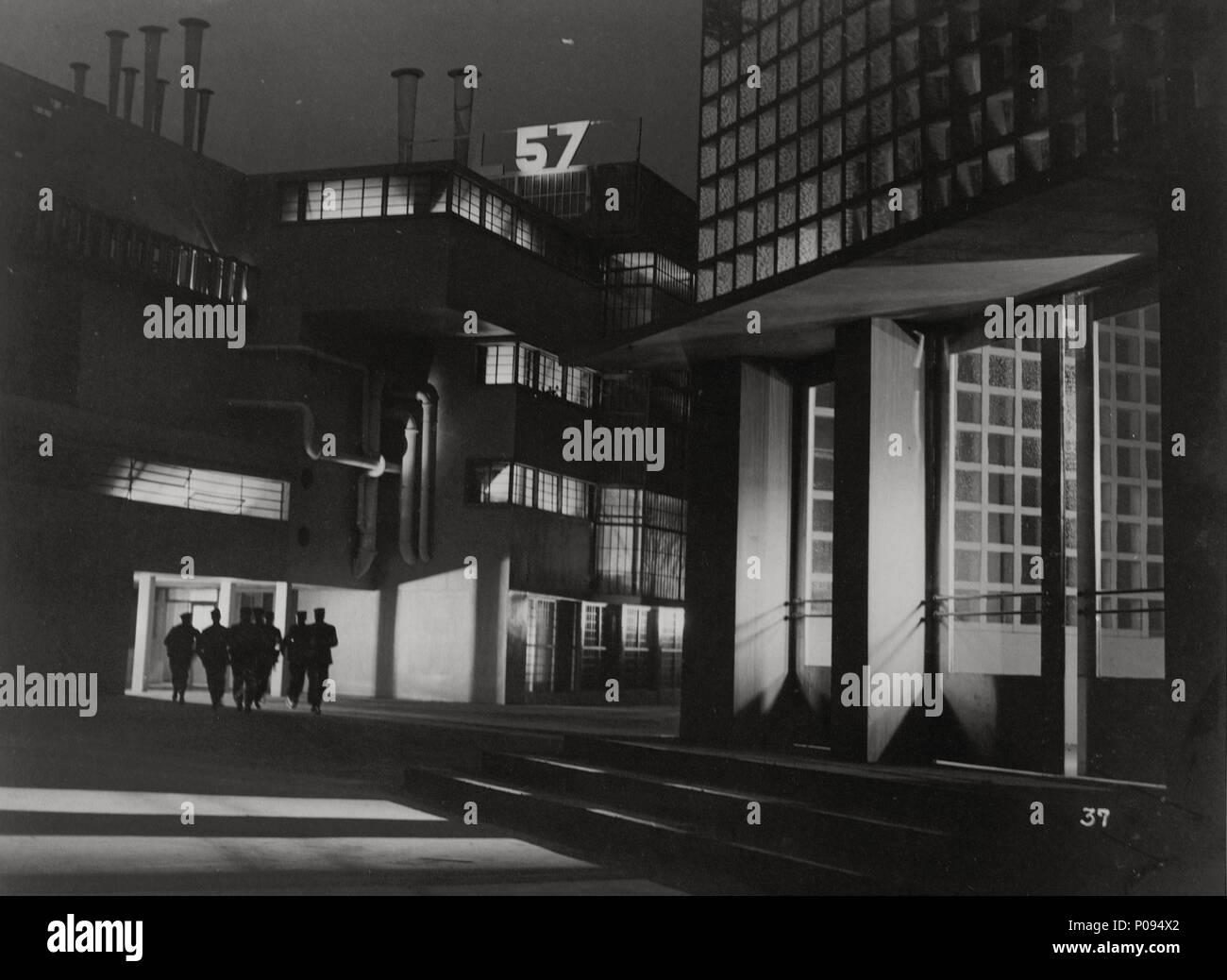 Original Film Title: A NOUS LA LIBERTE.  English Title: LIBERTY FOR US.  Film Director: RENE CLAIR.  Year: 1931. Credit: TOBIS FILM / Album Stock Photo