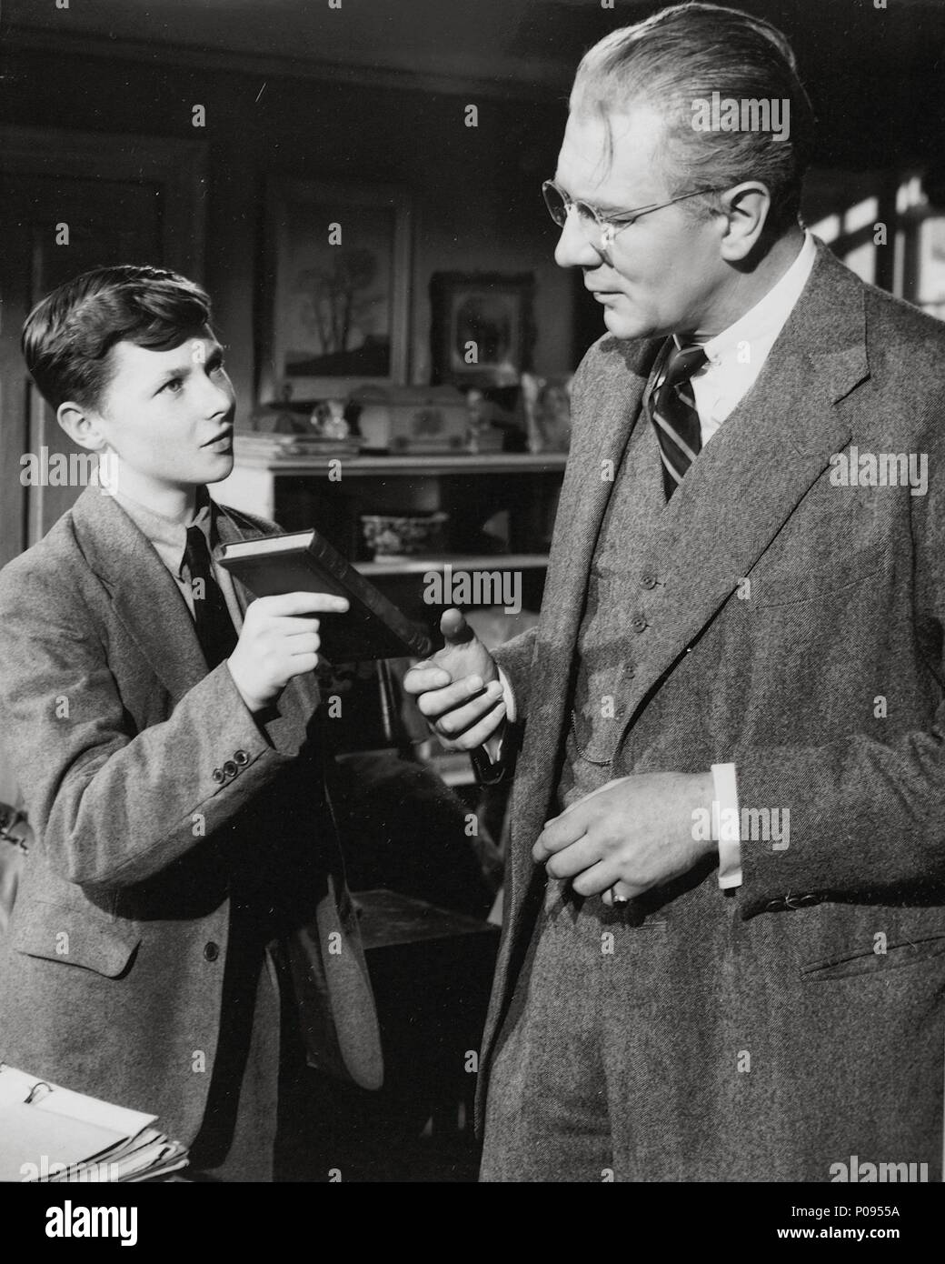 Original Film Title: THE BROWNING VERSION.  English Title: THE BROWNING VERSION.  Film Director: ANTHONY ASQUITH.  Year: 1951.  Stars: MICHAEL REDGRAVE. Credit: GFD/JAVELIN / Album Stock Photo