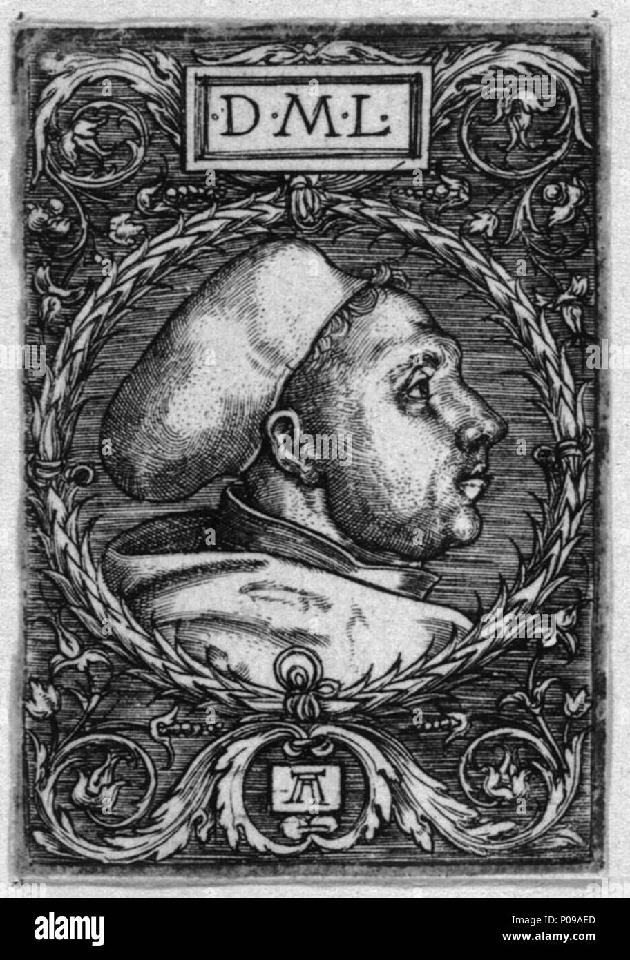 portrait of martin luther before 1530 282 lutheraltdorfer stock