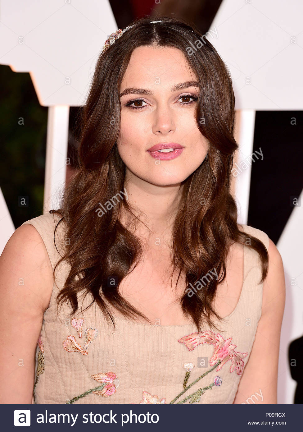 File photo dated 22/02/15 of Keira Knightley who has received a OBE in the Queen's Birthday Honours List. - Stock Image
