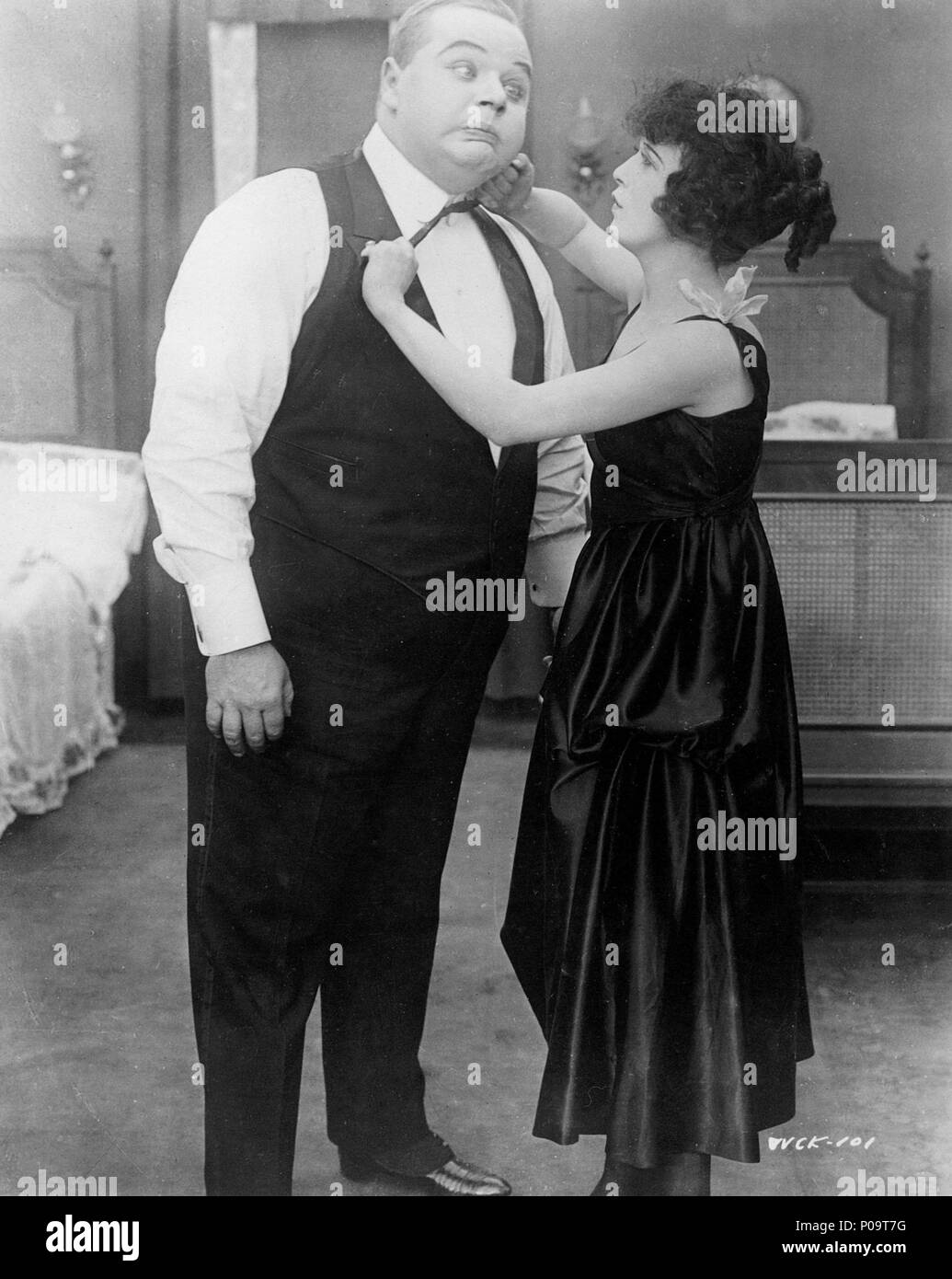 Original Film Title: WHEN COMEDY WAS KING.  English Title: WHEN COMEDY WAS KING.  Film Director: ROBERT YOUNGSON.  Year: 1960.  Stars: ROSCOE 'FATTY' ARBUCKLE. Credit: 20TH CENTURY FOX/ROBERT YOUNGSON PRODUCTIONS / Album - Stock Image