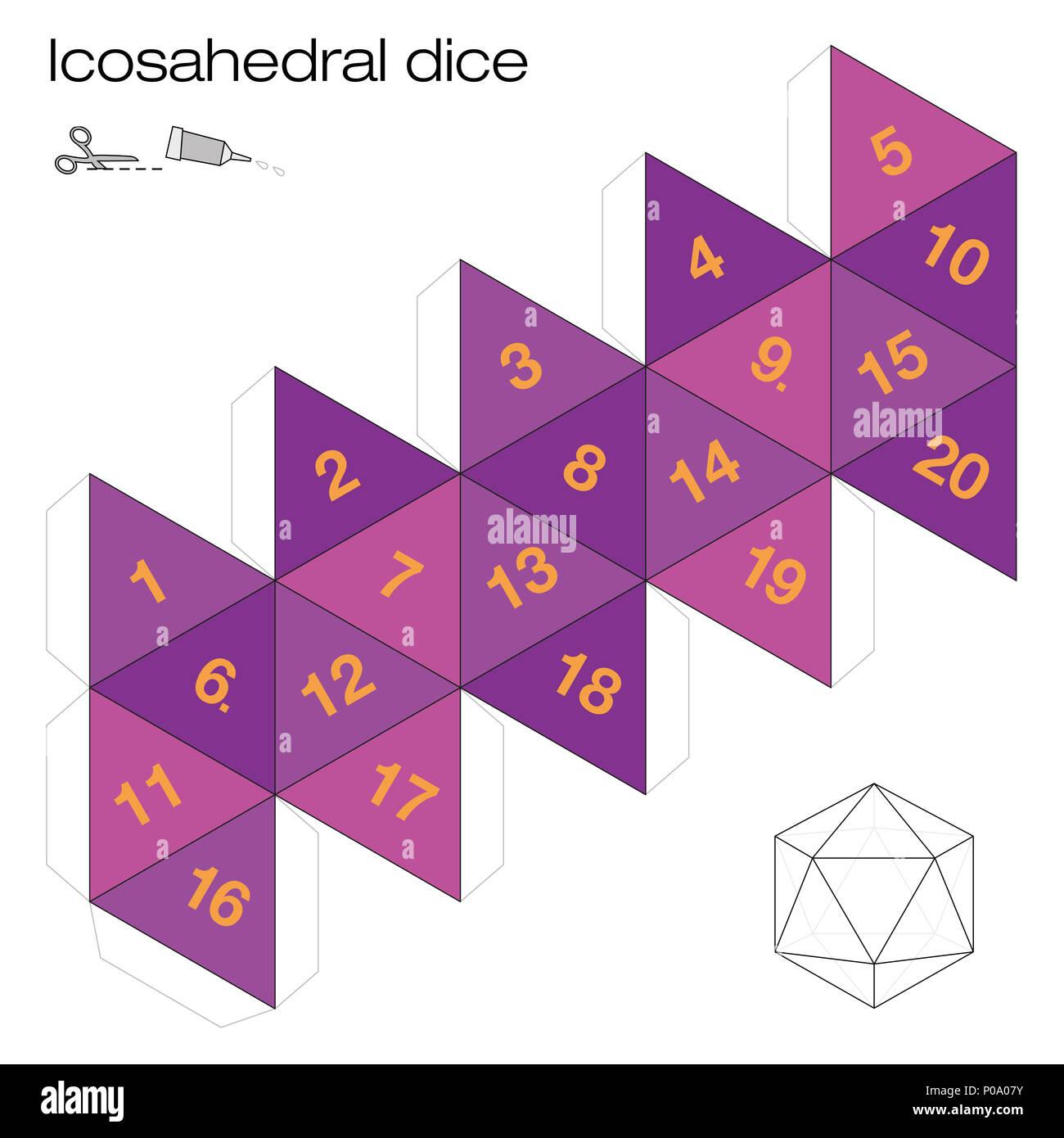Icosahedron Stock Photos & Icosahedron Stock Images - Alamy