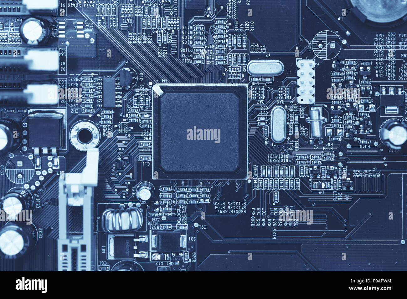 Chipset Stock Photos Images Alamy Circuit Symbols Innovation Celebrities Electronics Components Computer Electronic Silicon Chip In Digital Microprocessor Image