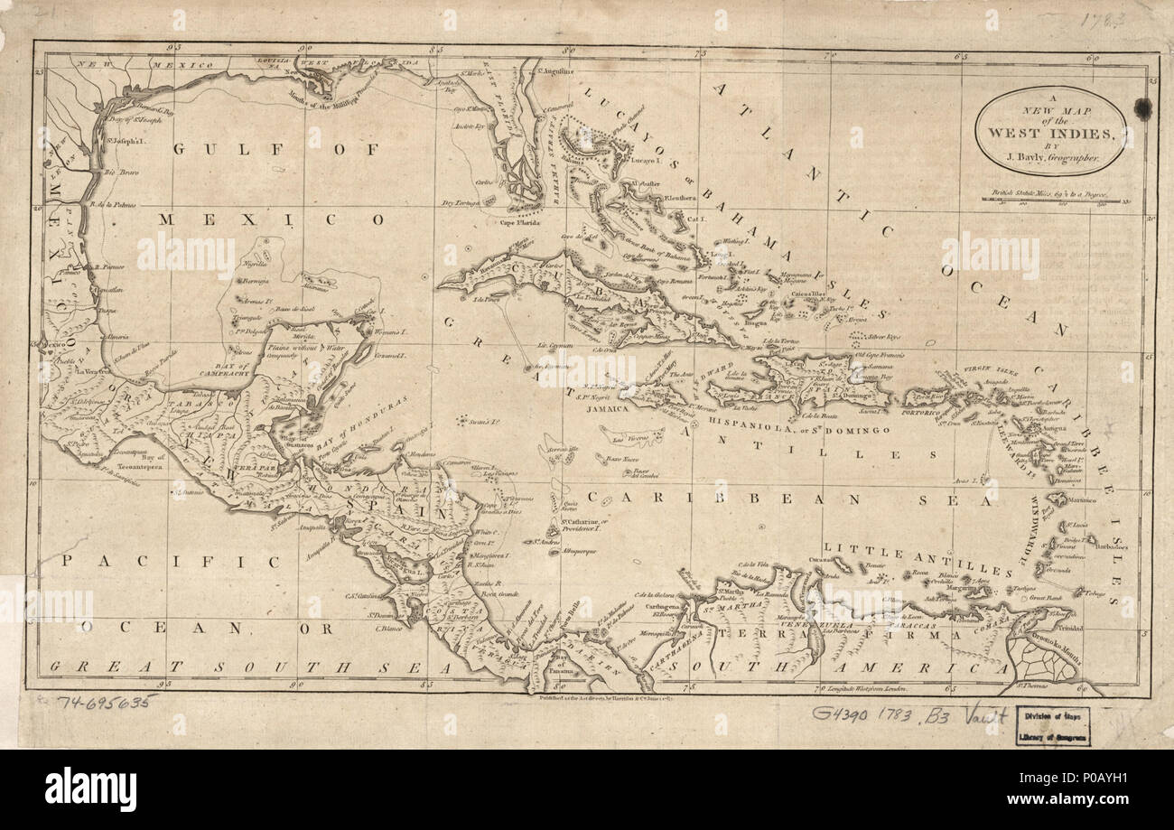 North America Map 1750.English Scale Ca 1 11 250 000 Prime Meridian London Relief