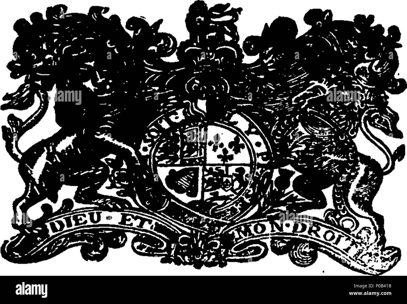 . English: Fleuron from book: An act for the more effectual execution of orders of the courts of justice, for giving and quieting possessions; and also, for the more effectually bringing to justice, such persons as shall inlist his Majesty's subjects, to serve as soldiers in foreign service, without licence. 300 An act for the more effectual execution of orders of the courts of justice Fleuron N056304-1 - Stock Image