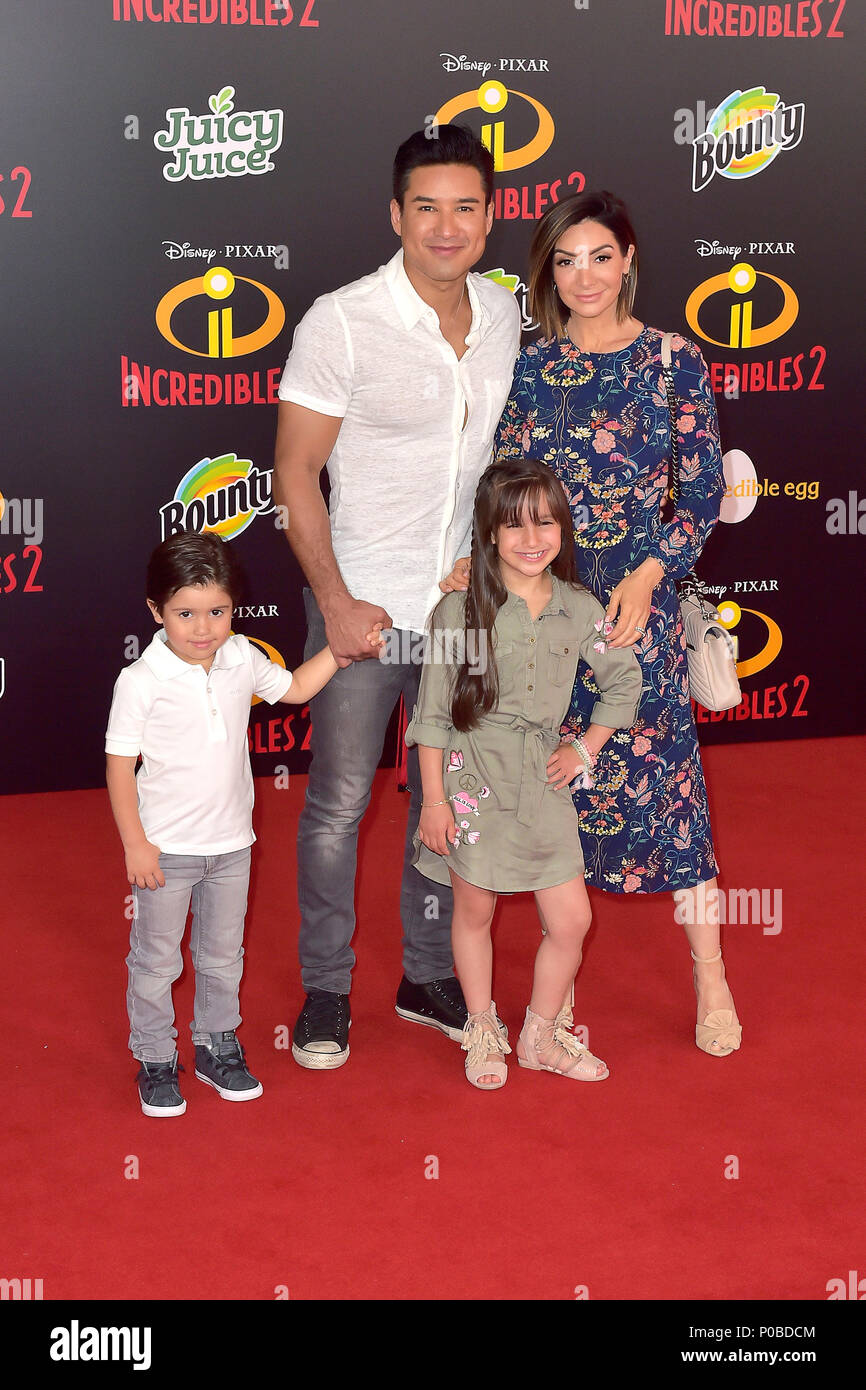 Mario Lopez Daughter Gia On High Resolution Stock Photography And Images Alamy