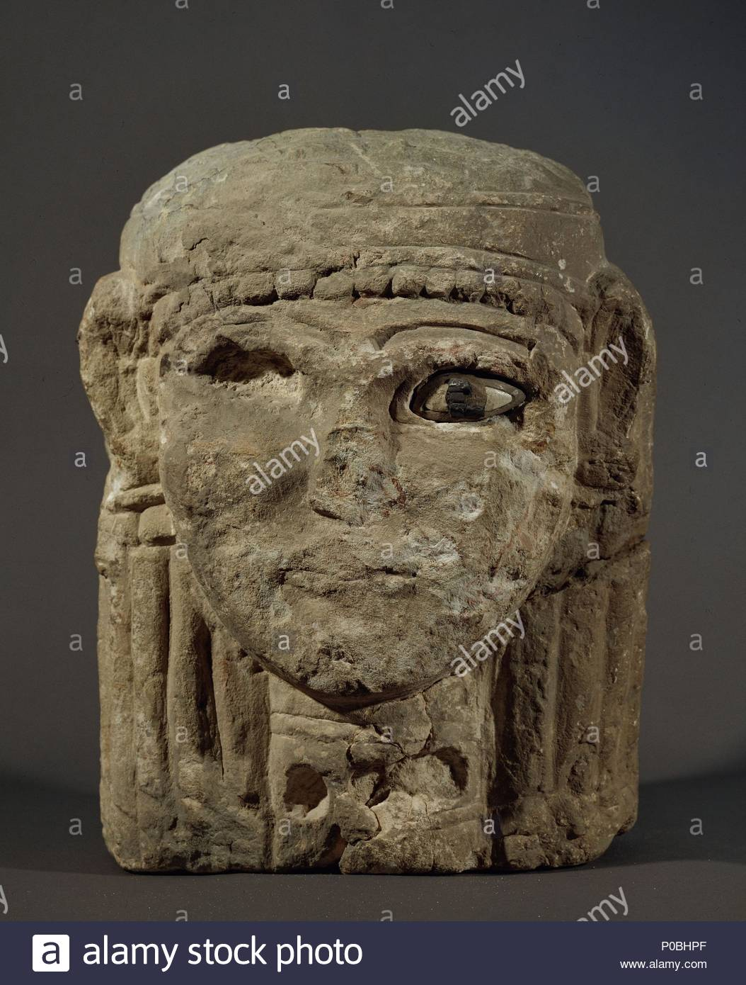Female Double Faced Head Iron II From The Amman Citadel Four Such Heads Were Discovered In 1968 Built Into A Hellenistic Drain