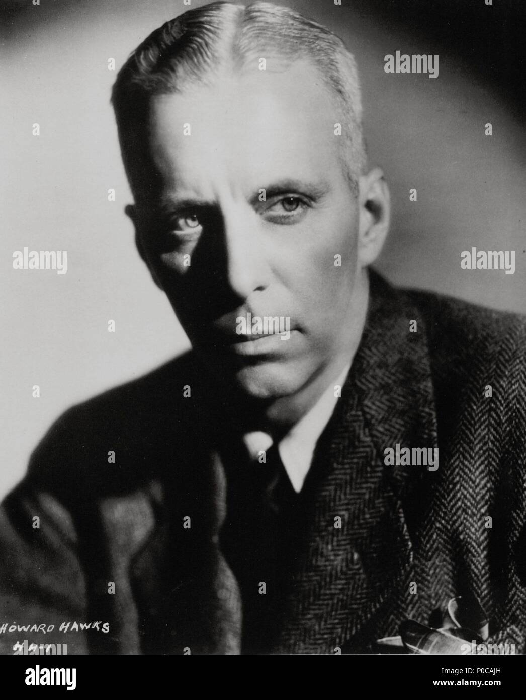 Howard Hawks Portrait Stock Photos   Howard Hawks Portrait Stock ... 451afa354bc