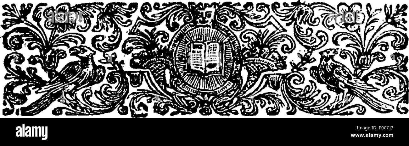 English: Fleuron from book: A sermon deliver'd at the South