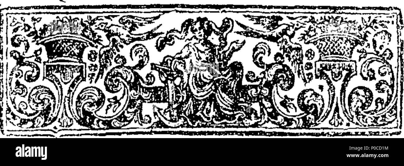 English: Fleuron from book: A sermon on 2 Kings vii  2