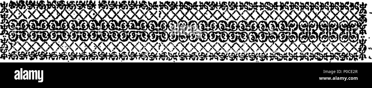. English: Fleuron from book: A sermon preach'd at the parish-church of St. Andrew, Holborn, on Wednesday, May 16, 1759. before the president and governors of the City of London Lying-in Hospital for Married Women, At Shaftesbury-House in Aldersgate-Street. By Gregory Sharpe, L. L. D. Fellow of the Royal and Antiquarian Societies. Published at the Request of the Society. 193 A sermon preach'd at the parish-church of St Fleuron T074192-5 - Stock Image