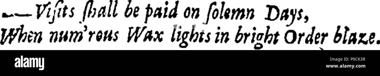 . English: Fleuron from book: A supplement to Dr. Swift's and Mr. Pope's works. ... 212 A supplement to Dr. Swift's and Mr. Pope's works. - Fleuron T048930-10 Stock Photo