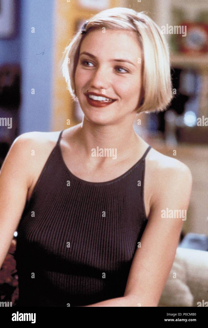 Original Film Title: THERE'S SOMETHING ABOUT MARY.  English Title: THERE'S SOMETHING ABOUT MARY.  Film Director: BOBBY & PETER FARRELLY; BOBBY FARRELLY; PETER FARRELLY.  Year: 1998.  Stars: CAMERON DIAZ. Credit: 20TH CENTURY FOX / Album - Stock Image
