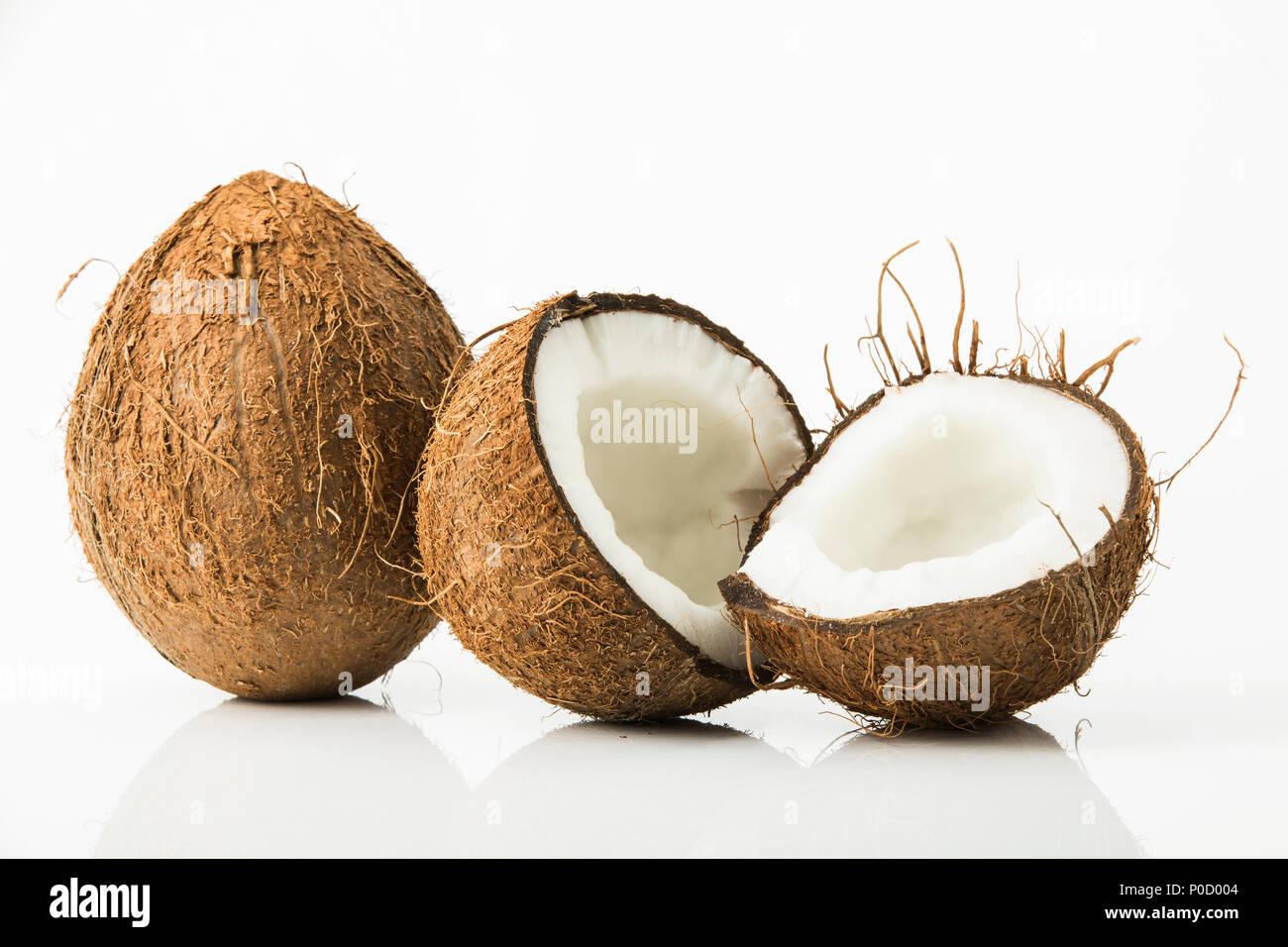 Kokosnüsse, Studio - Stock Image