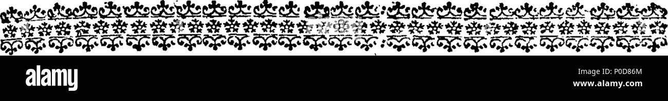 . English: Fleuron from book: A sermon preached before the Right Honourable the Lord Mayor, the Court of Aldermen, and Liveries of the several Companies of London, in the parish church of St. Lawrence Jewry, on Friday, Sept. 29, 1752. Being the day of election of a Lord Mayor for the year ensuing. By William Roman, LL. B. Chaplain to the Right Honourable the Lord Mayor. 197 A sermon preached before the Right Honourable the Lord Mayor Fleuron T047816-2 - Stock Image