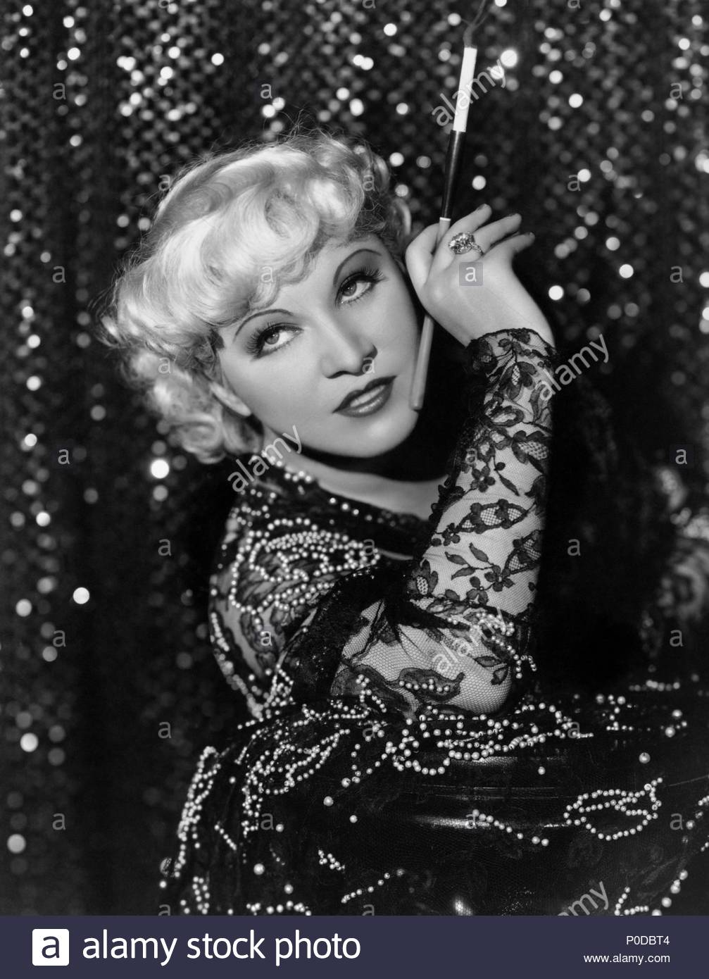 Year: 1935.  Stars: MAE WEST. - Stock Image