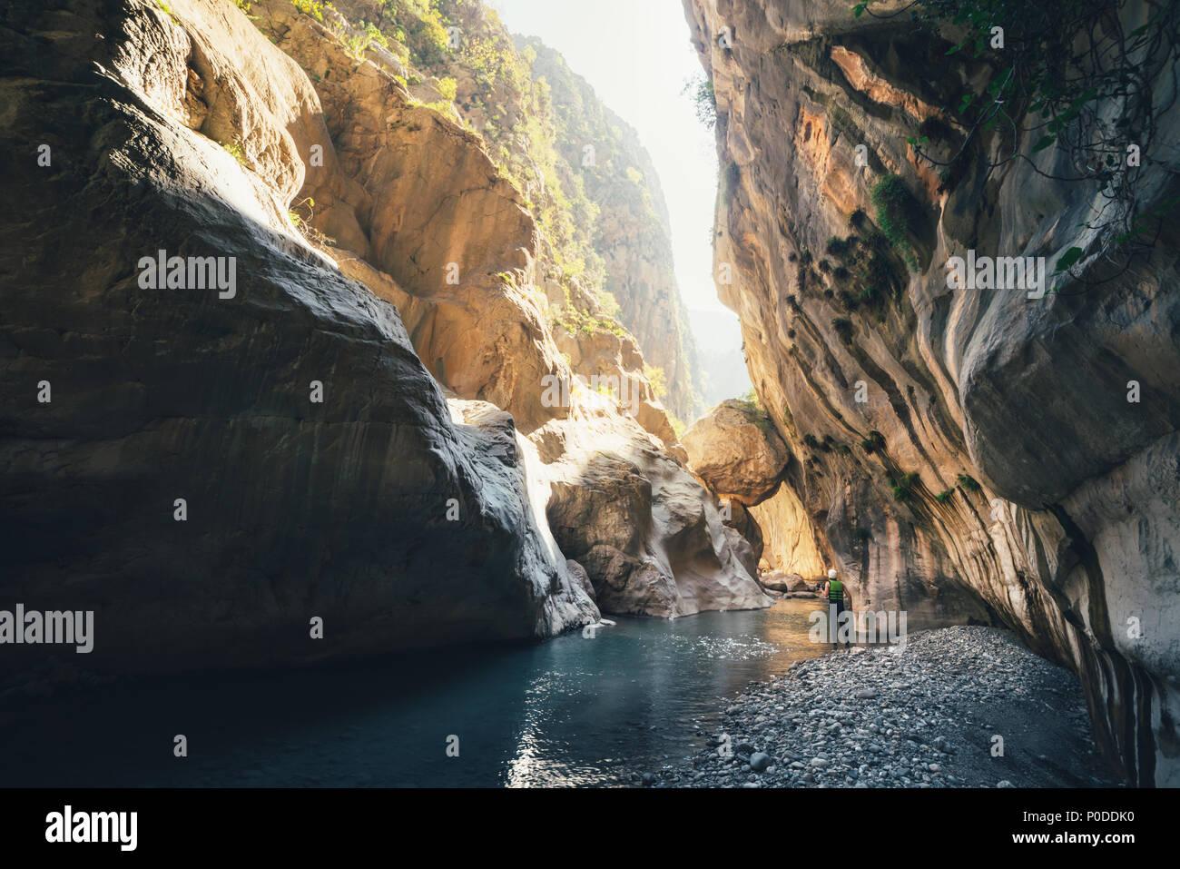Amazing view of Goynuk canyon - Stock Image