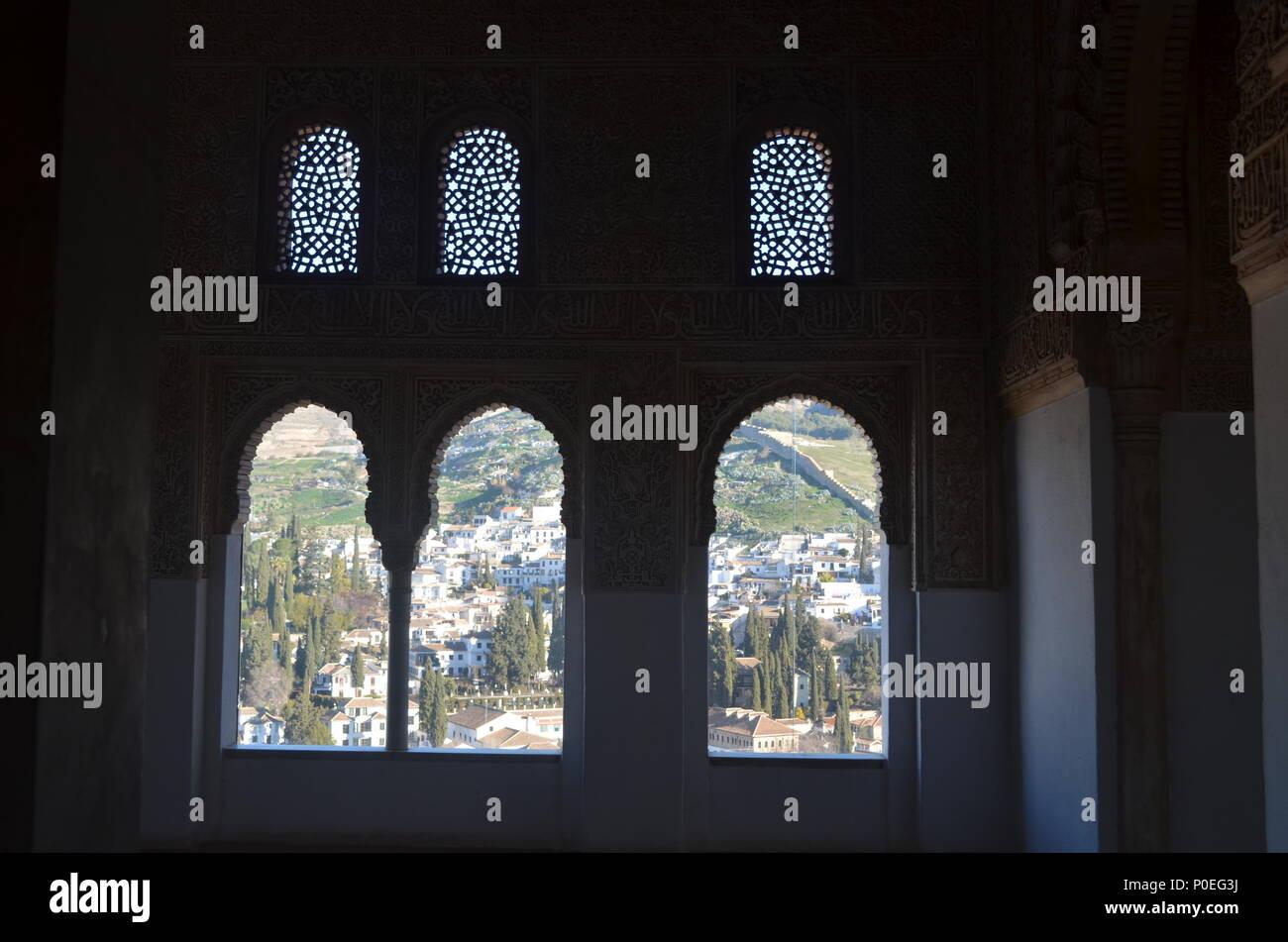 Arabic Windows Stock Photo