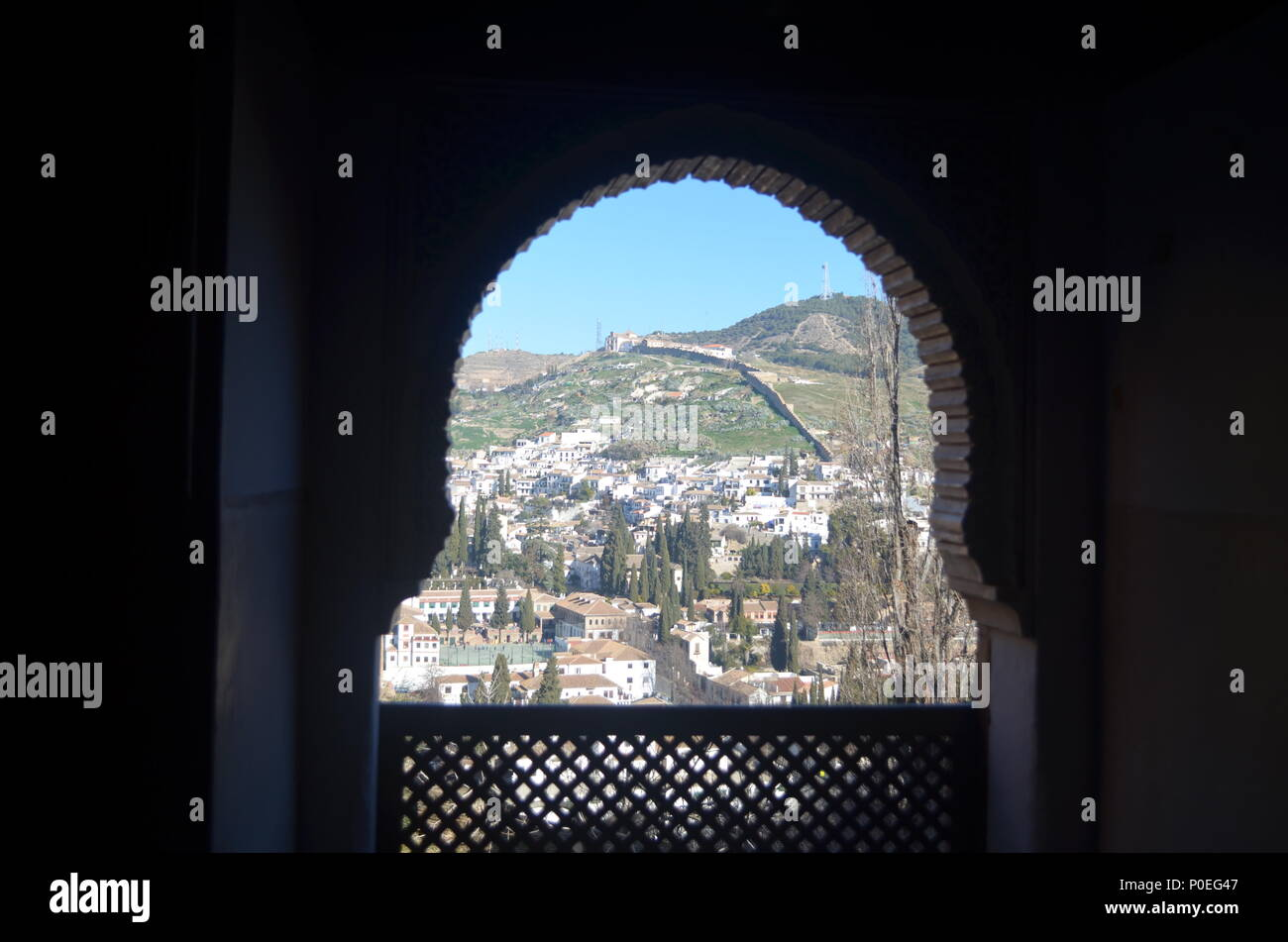 Balcony - Stock Image