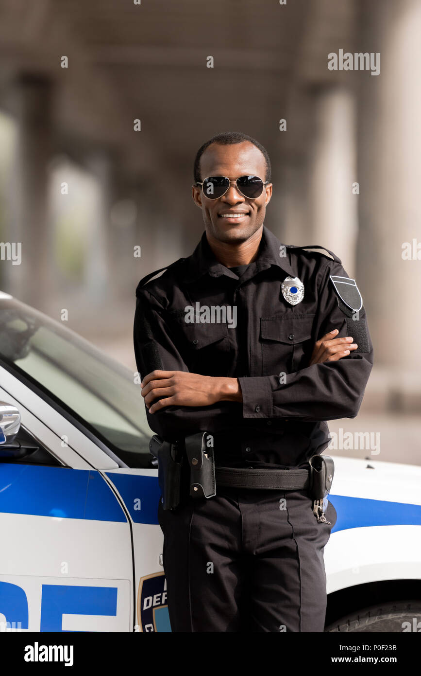 African American Police Officer Stock Photos & African