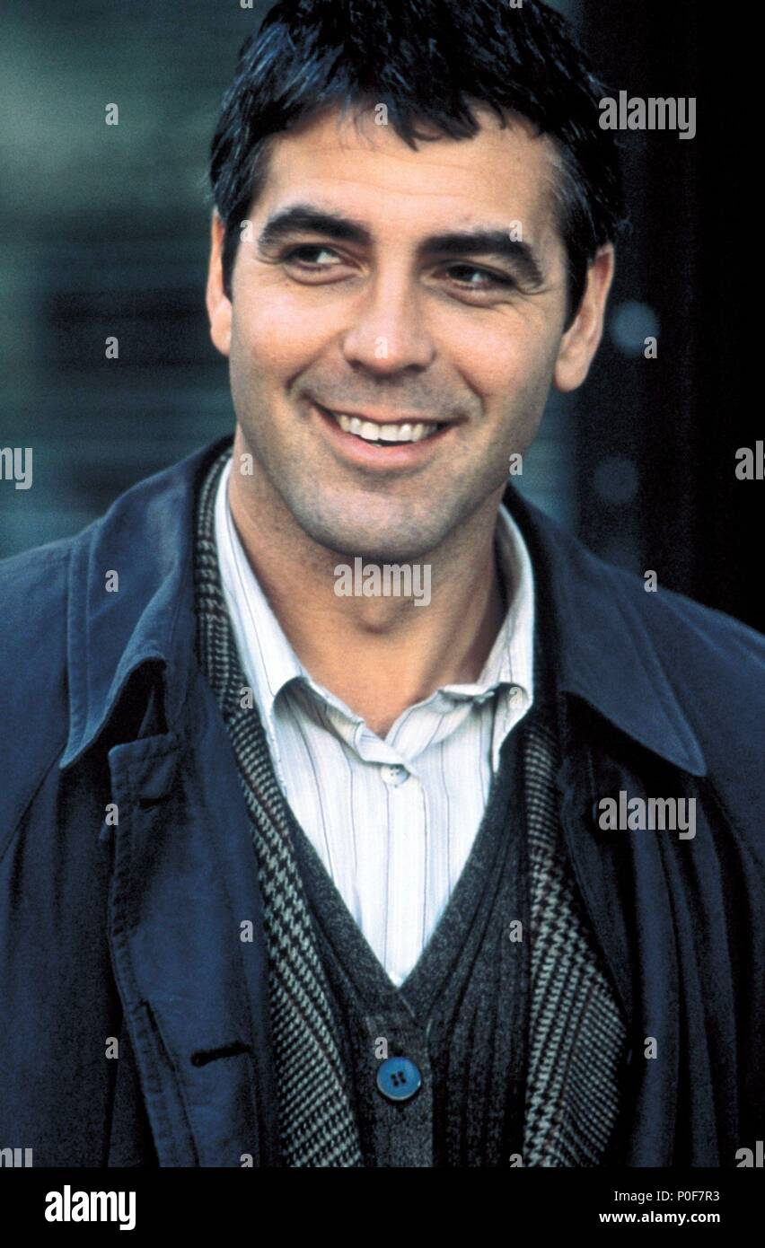 Original Film Title: ONE FINE DAY.  English Title: ONE FINE DAY.  Film Director: MICHAEL HOFFMAN.  Year: 1996.  Stars: GEORGE CLOONEY. Credit: 20TH CENTURY FOX / ARONOWITZ, MILES / Album Stock Photo