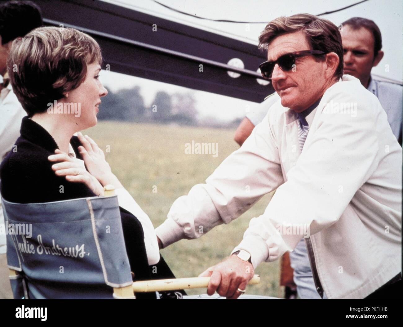 Original Film Title: DARLING LILI.  English Title: DARLING LILI.  Film Director: BLAKE EDWARDS.  Year: 1970.  Stars: JULIE ANDREWS; BLAKE EDWARDS. Credit: PARAMOUNT PICTURES / Album - Stock Image