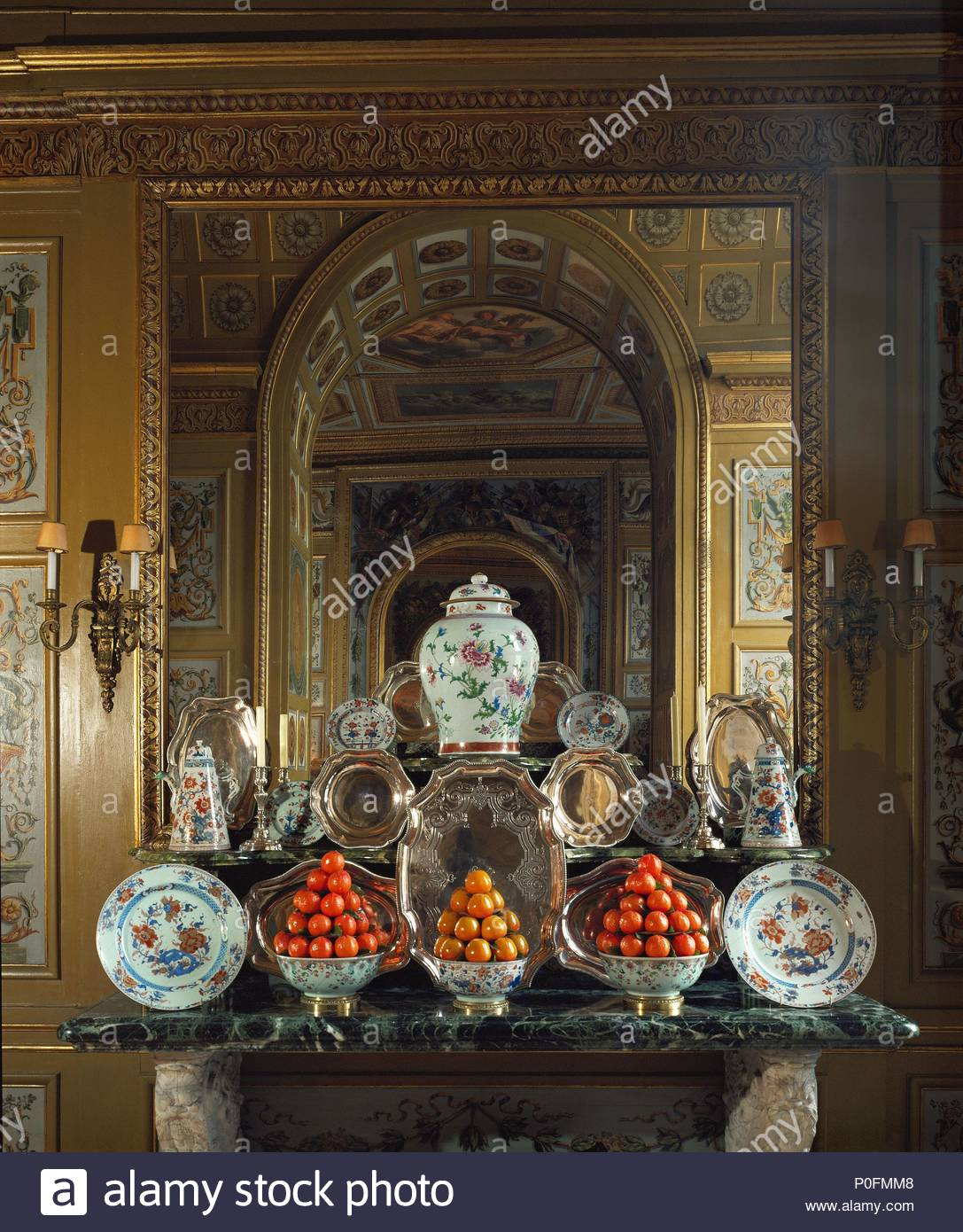 Vaux Le Vicomte Sideboard In The Dining Room The Salles Des