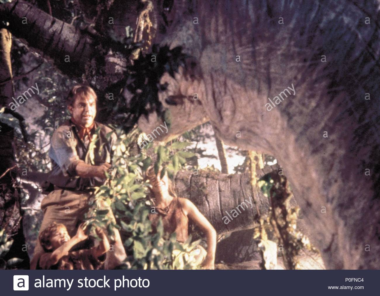 Original Film Title: JURASSIC PARK.  English Title: JURASSIC PARK.  Film Director: STEVEN SPIELBERG.  Year: 1993.  Stars: SAM NEILL. Credit: AMBLIN/UNIVERSAL / Album - Stock Image