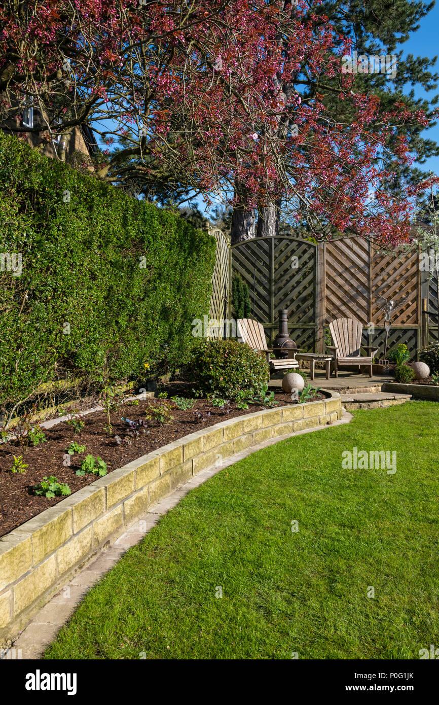 Sunny Corner Of Beautiful Landscaped Private Garden