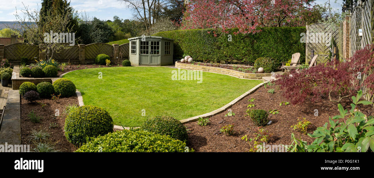 Beautiful, sunny, newly landscaped, private garden with ...