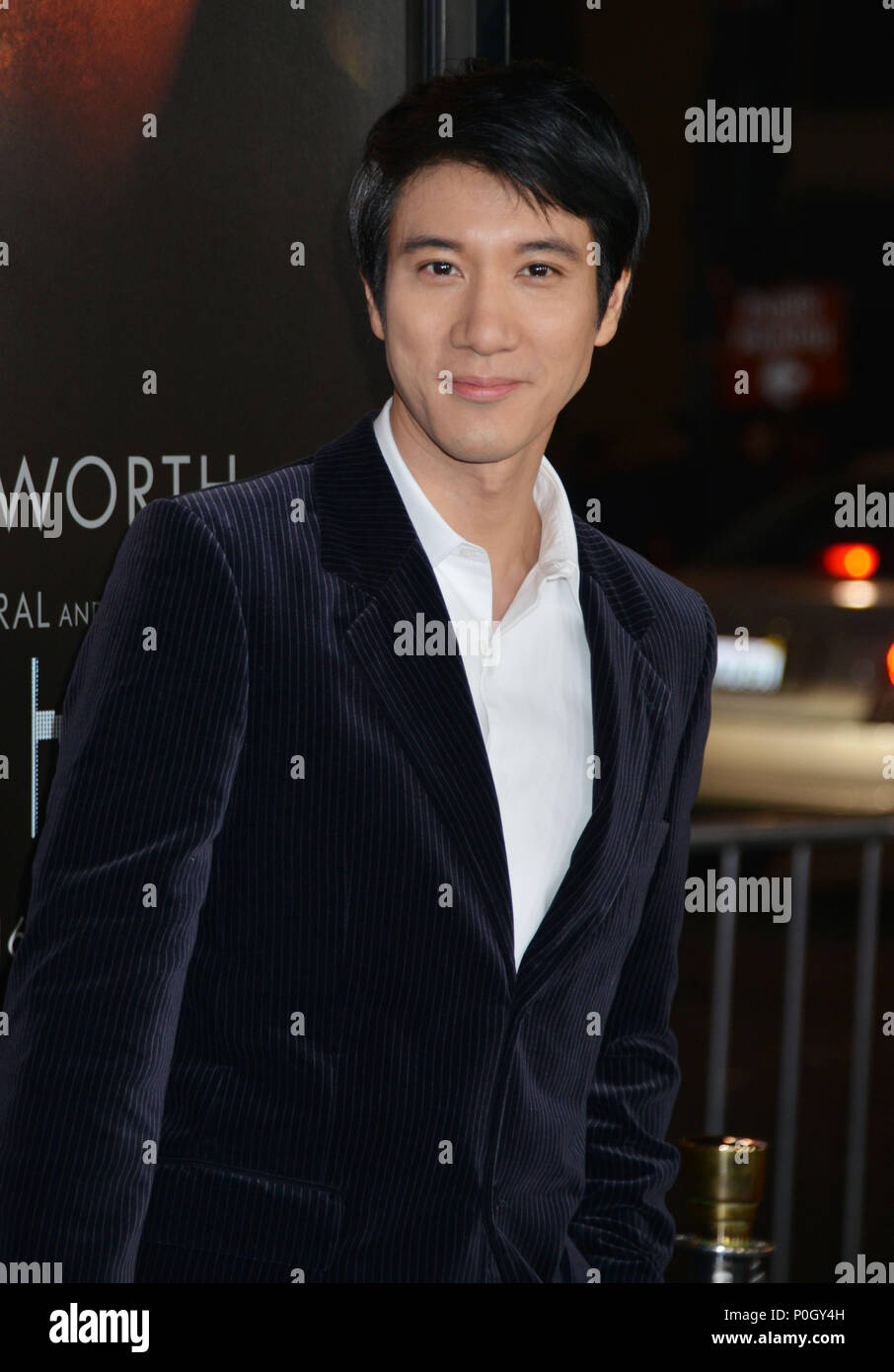 Leehom Wang 005 at Black Hat Premiere at the Chinese Theatre